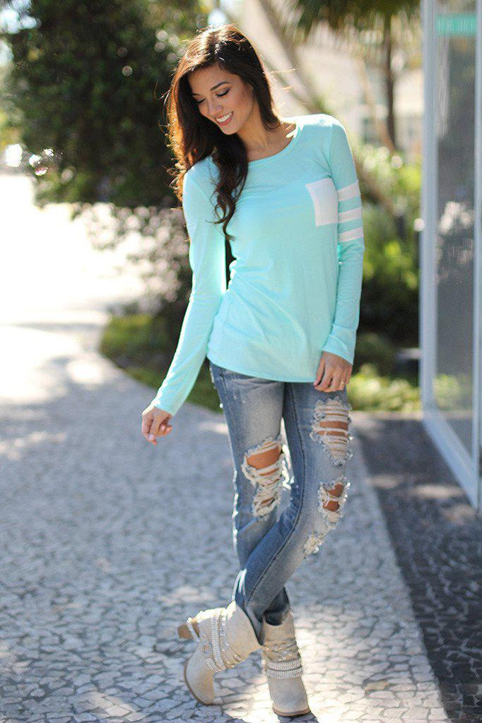 mint sporty top