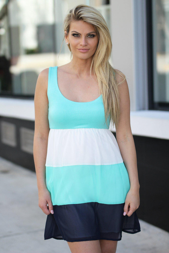 mint casual dress