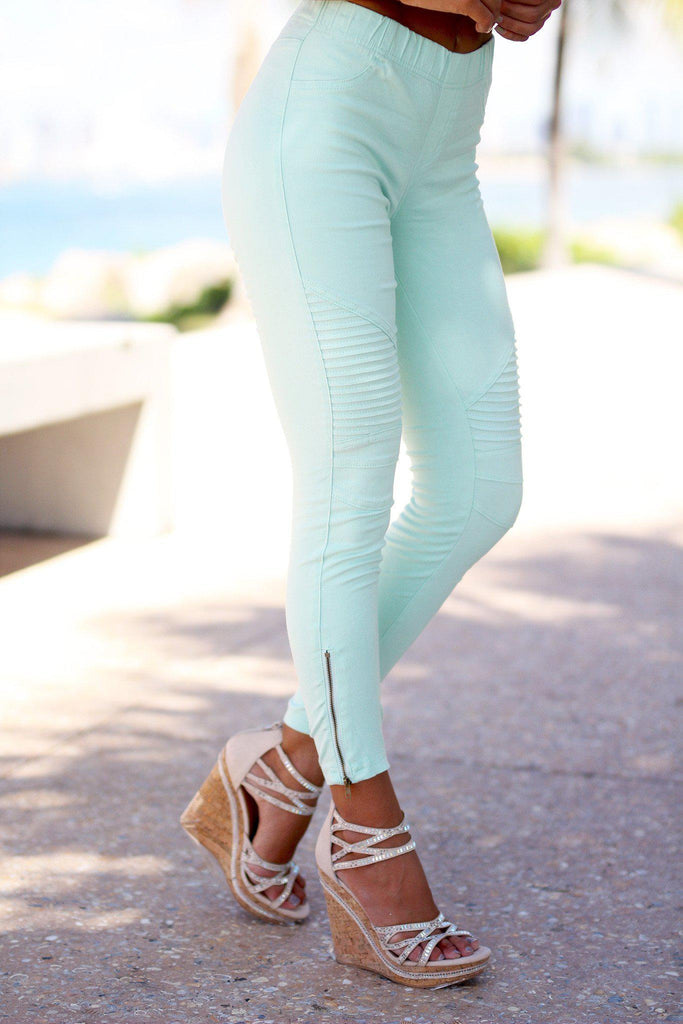 mint cute jeggins