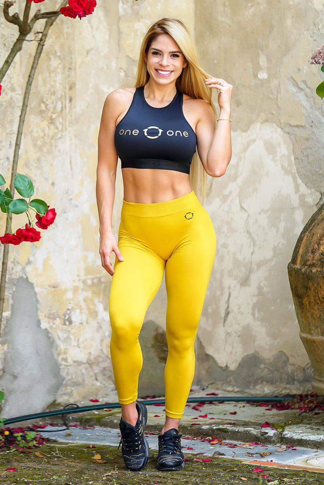 Mustard Skinflex Leggings