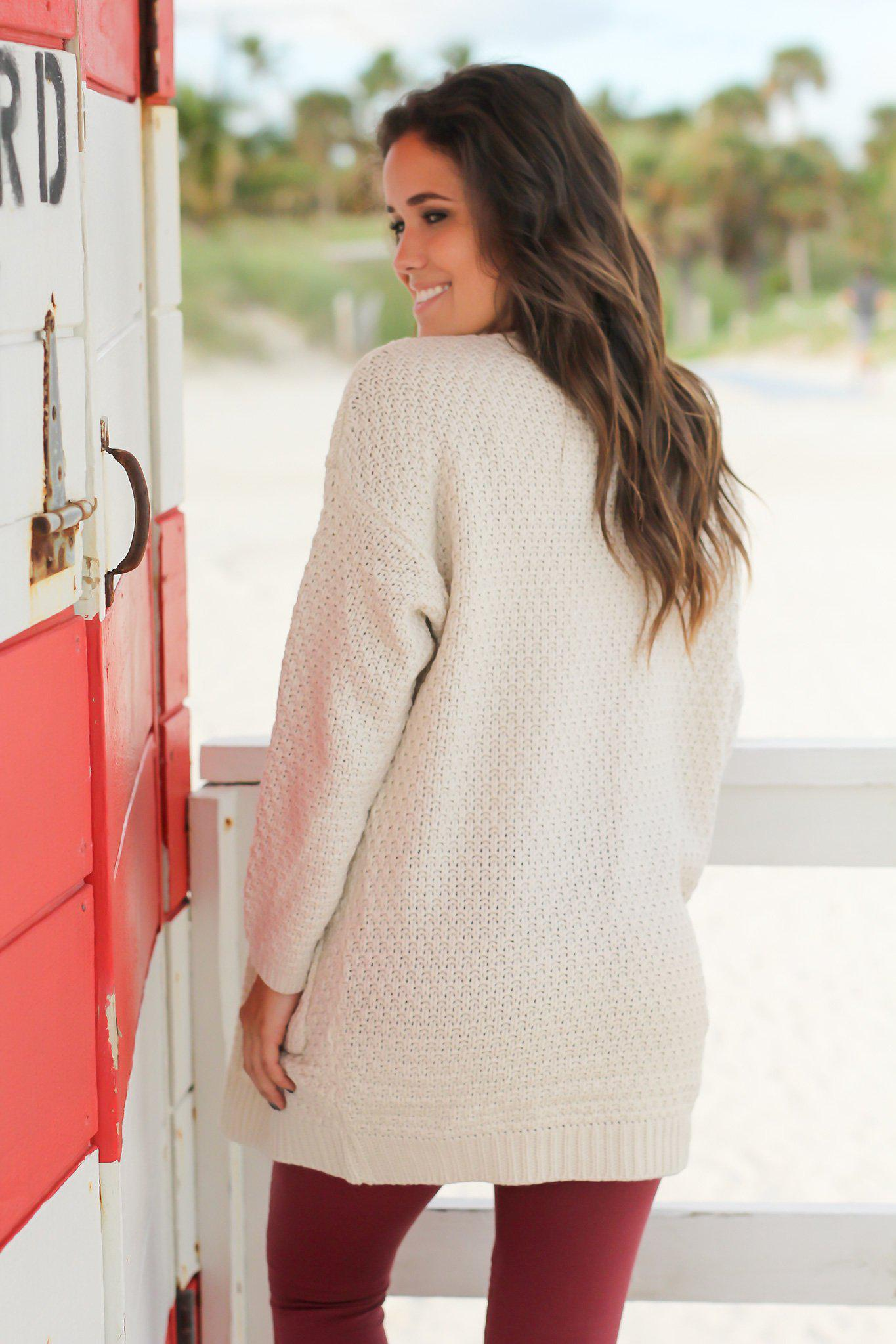 Natural Knit Cardigan