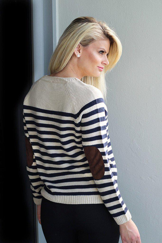 striped womens sweater