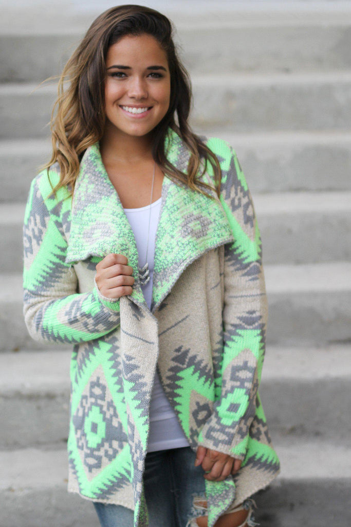 printed cute cardigan