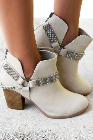 Norman Cream Booties