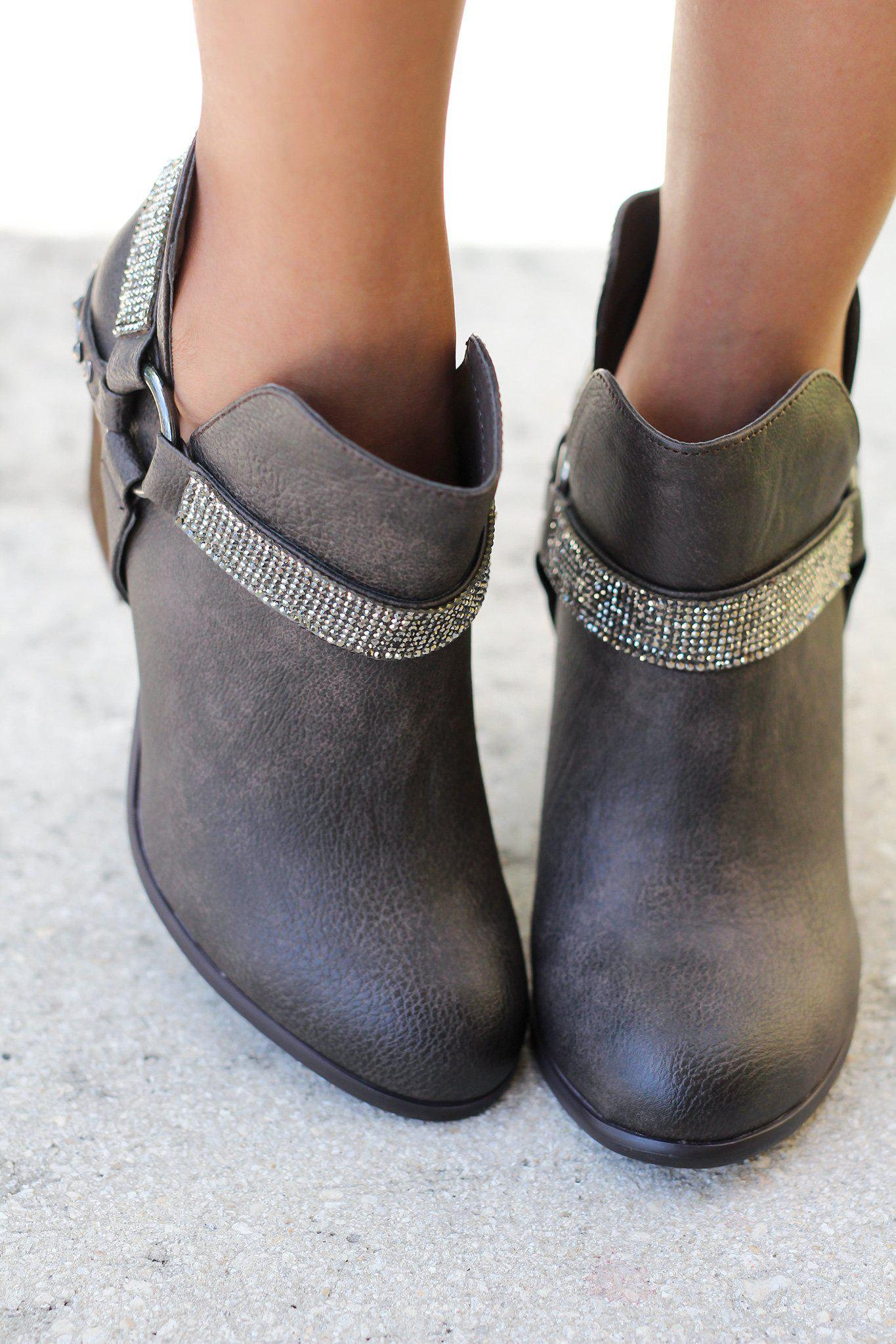 Norman Taupe Booties