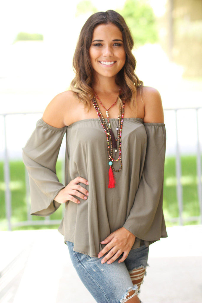 olive fashion top