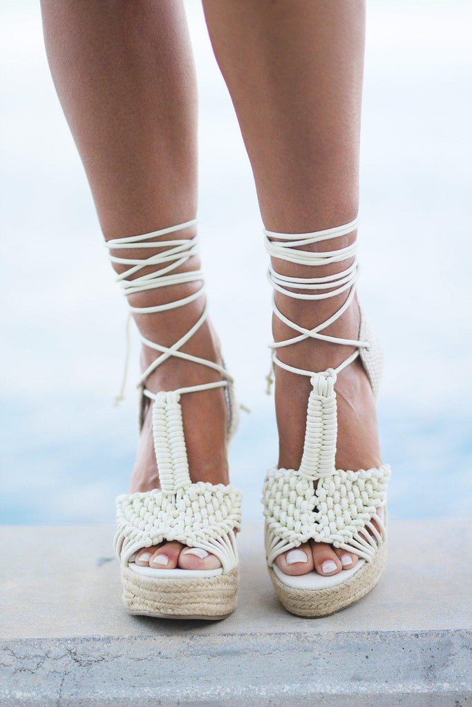 off white wedges