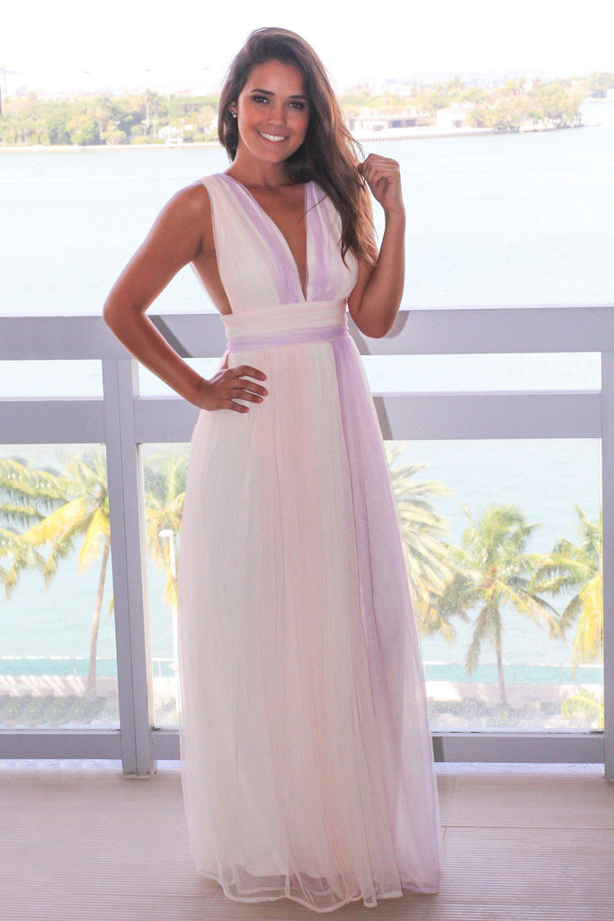 Pastel Tulle Maxi Dress | Maxi Dresses U2013 Saved By The Dress