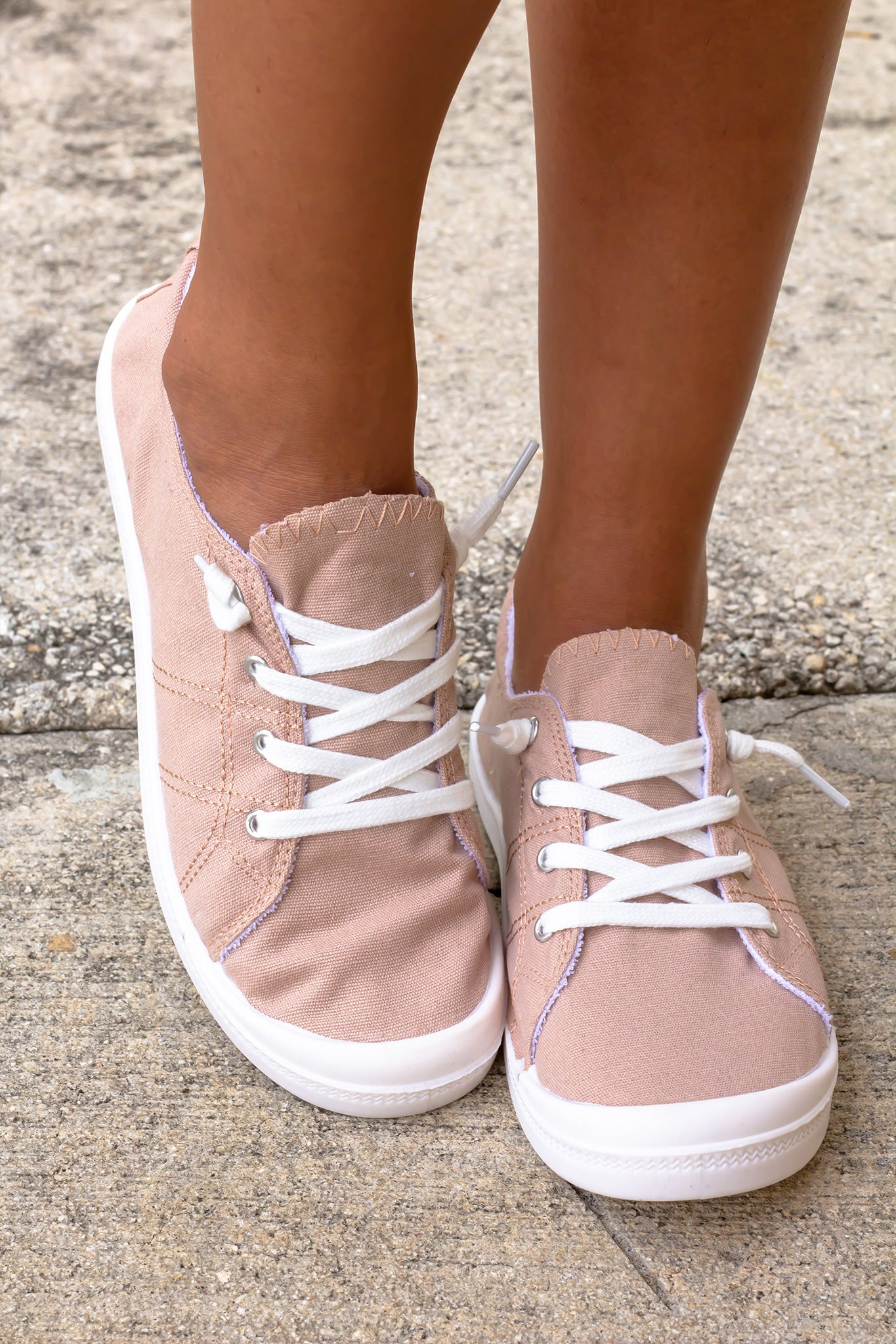 Rae Blush Sneakers