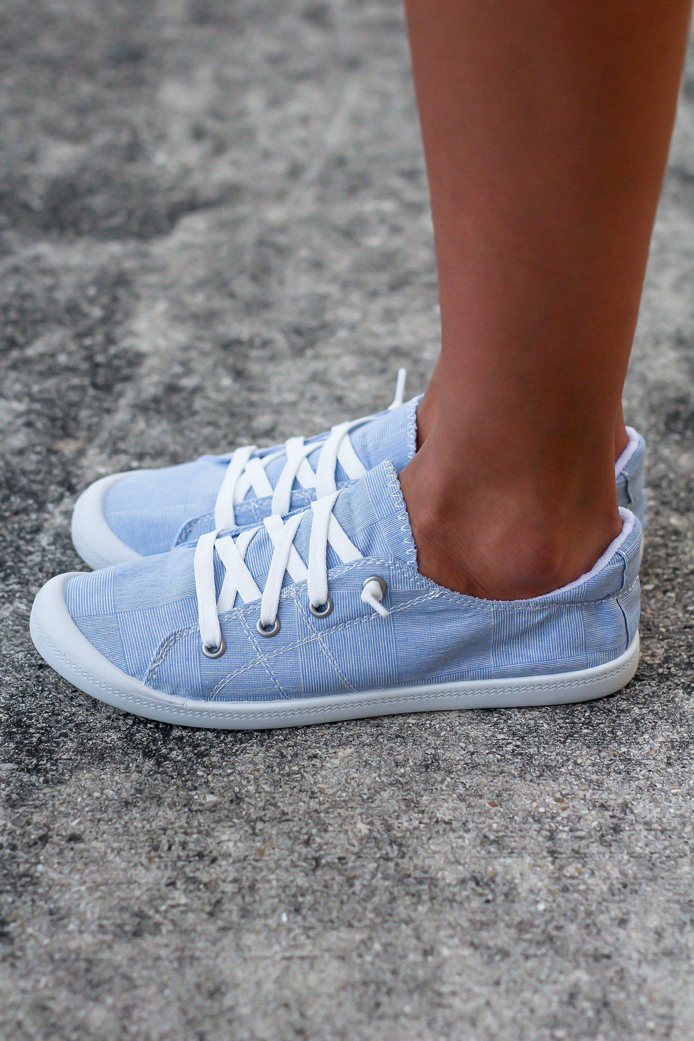 Rayza Blue Sneakers
