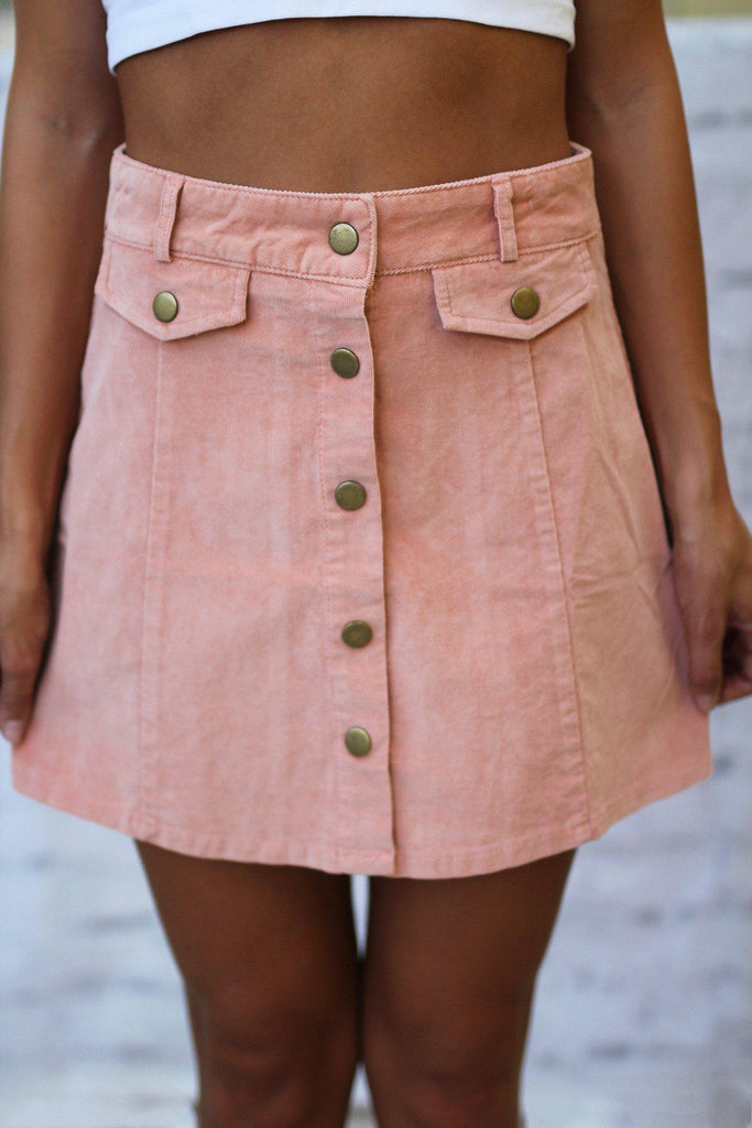 rose casual skirt