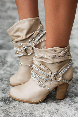 Sierra Cream Booties