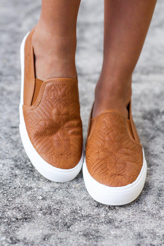 Sloan Tan Sneakers