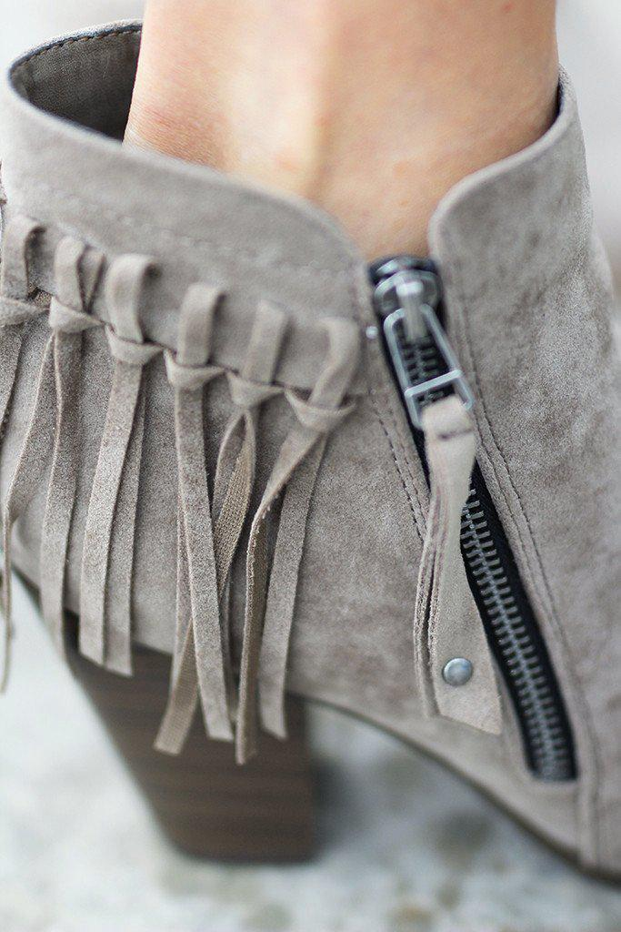 cute boots with fringe