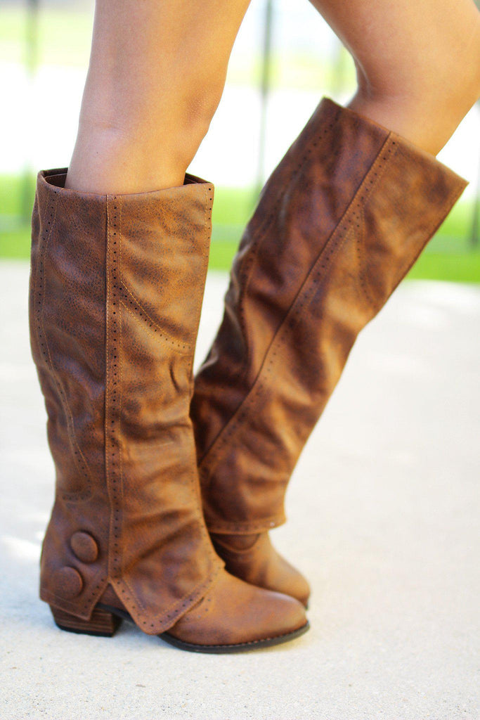 Bailey Tan Boots