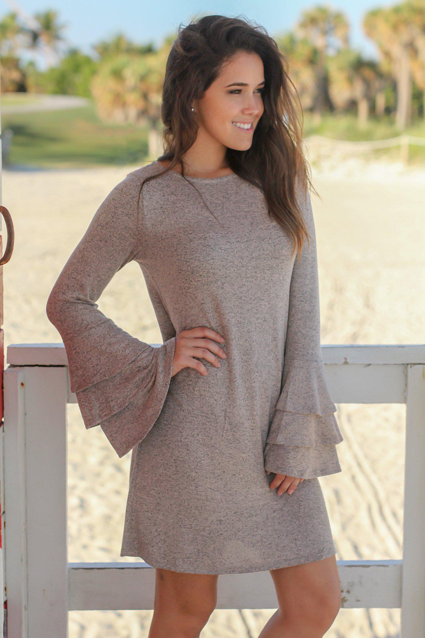 Taupe Dresses