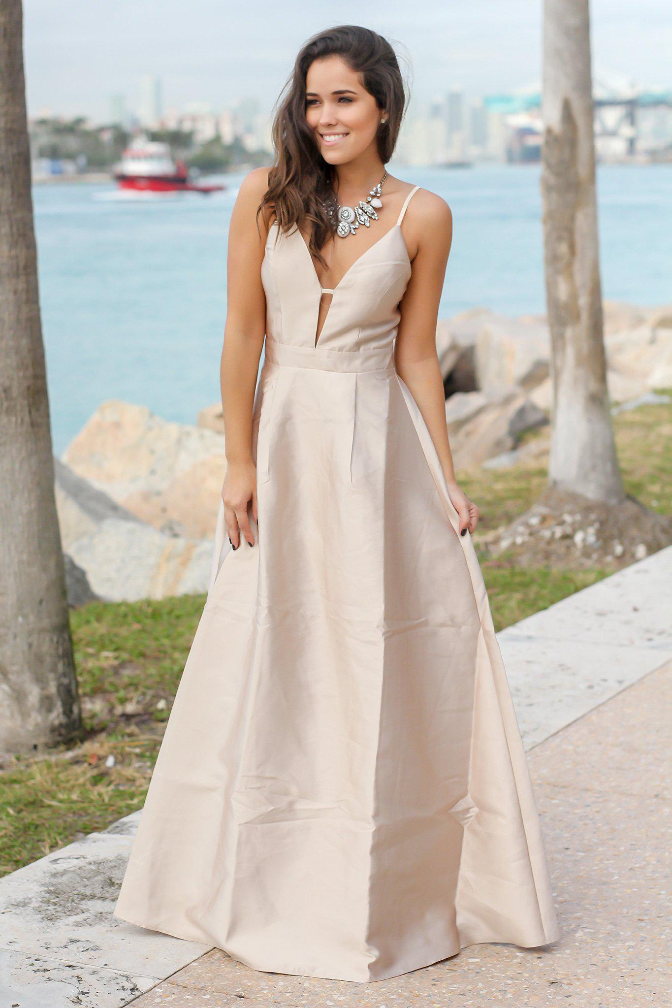 Deep Berry Maxi Dress with Open Back | Maxi Dresses – Saved by the Dress