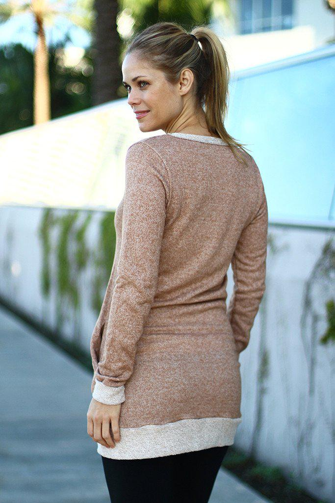 Taupe Tunic With Pockets