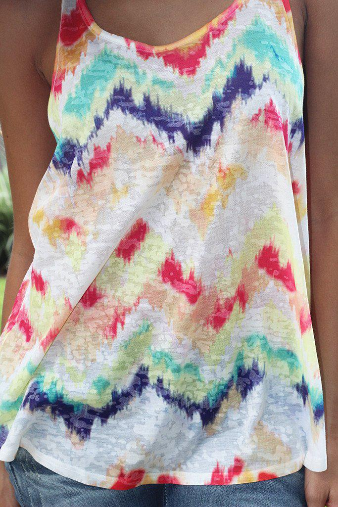 Multi Color Tank Top