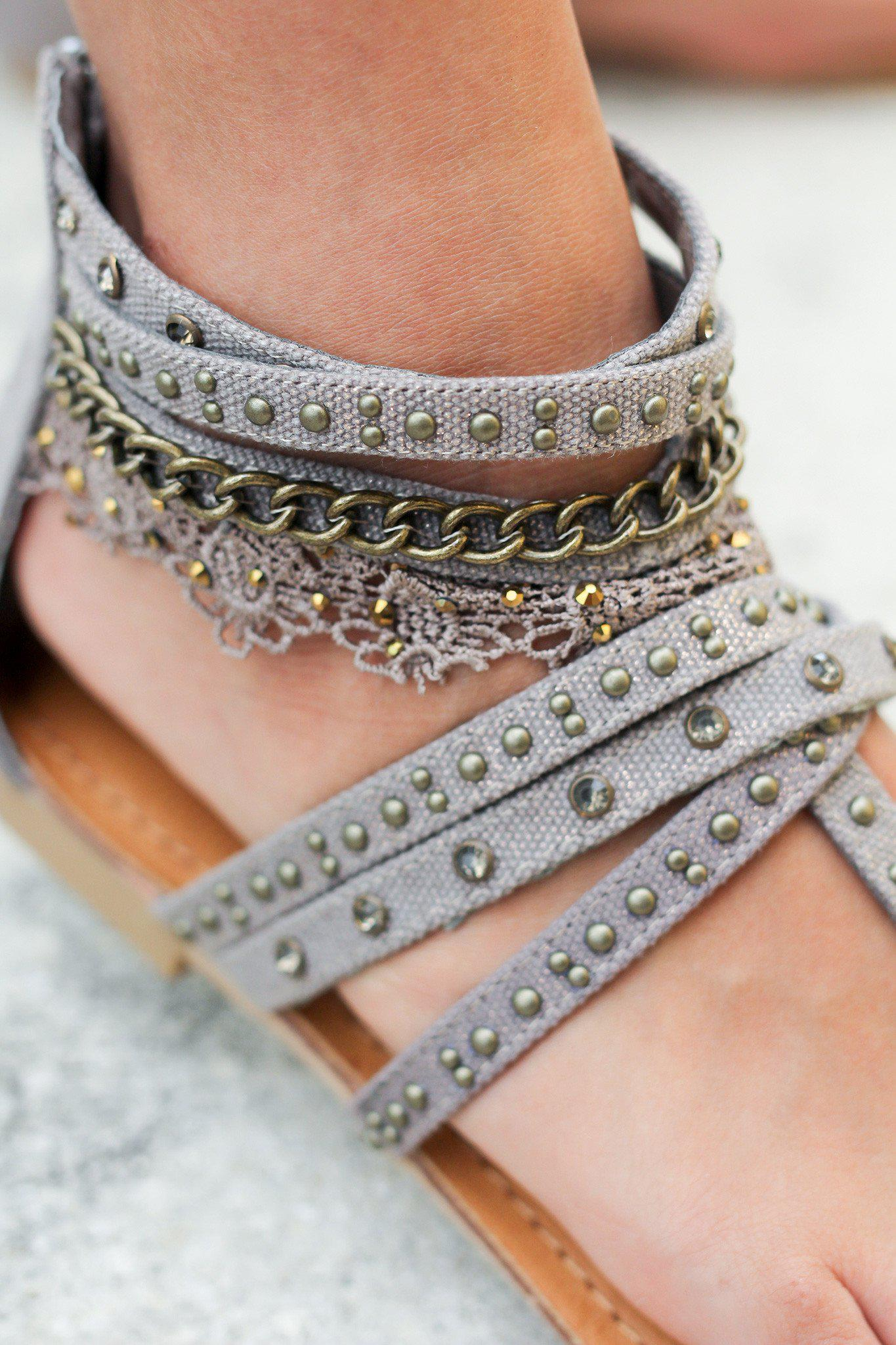 Wilma Taupe Sandals | Online Boutiques – Saved by the Dress