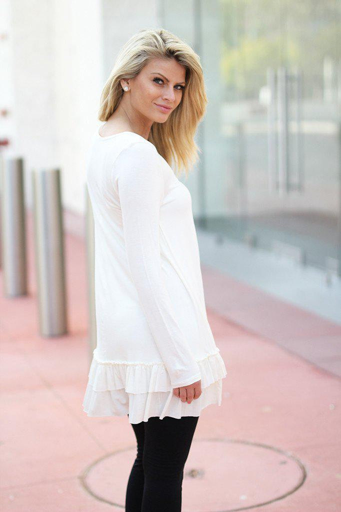 off white short dress