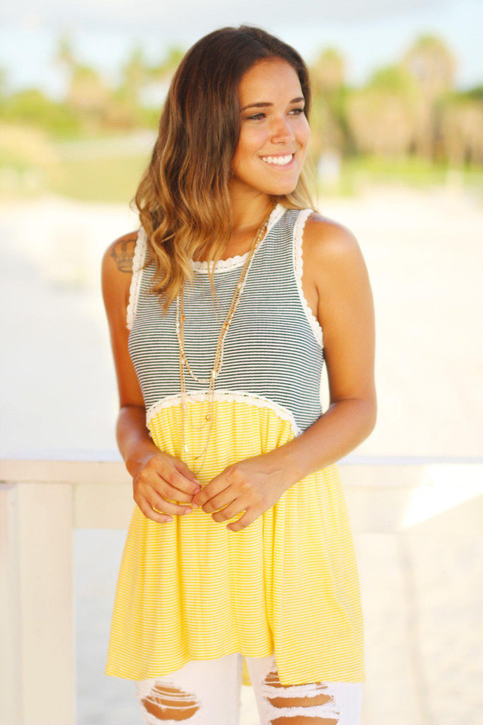 sleeveless long tunic top