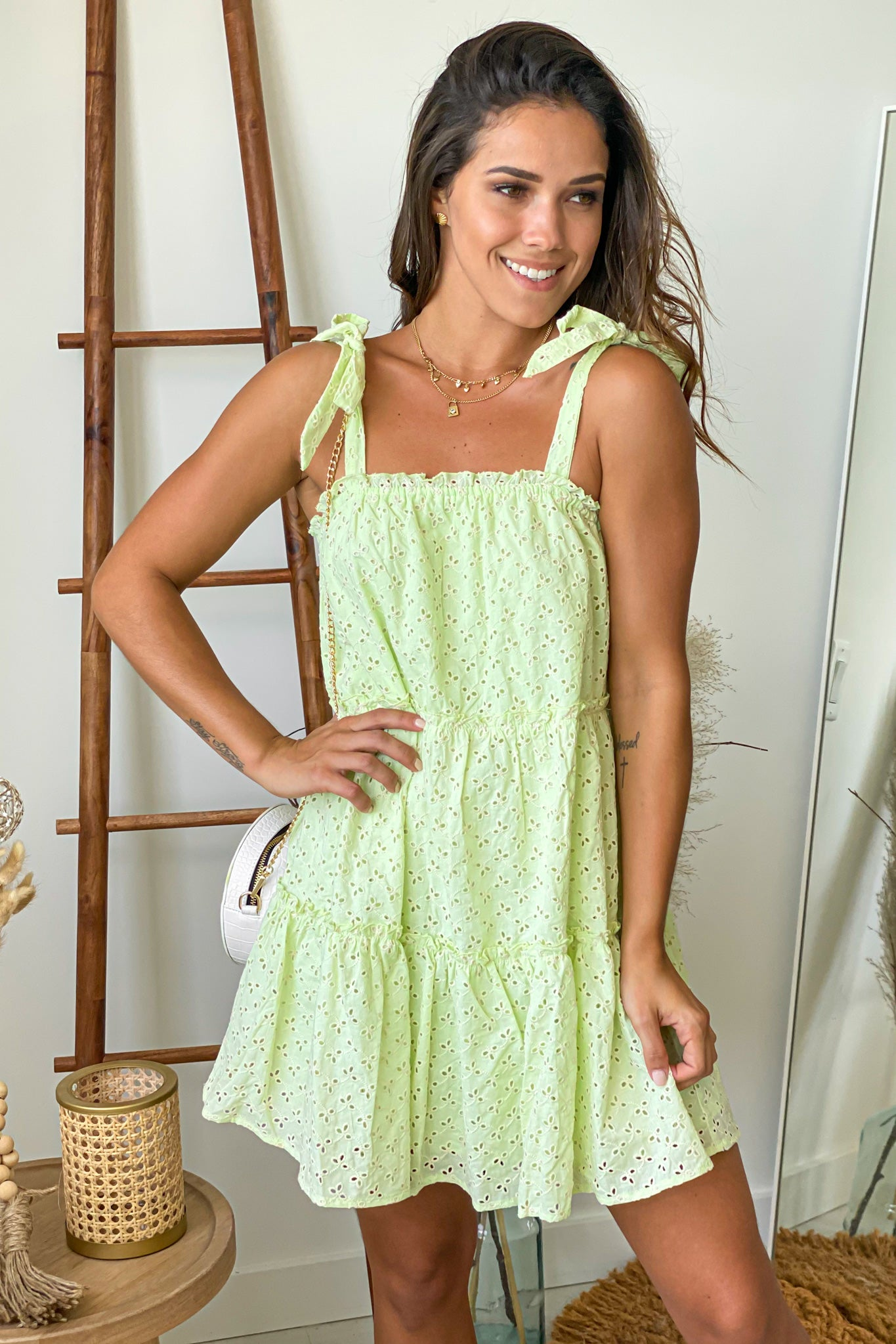avocado summer dress