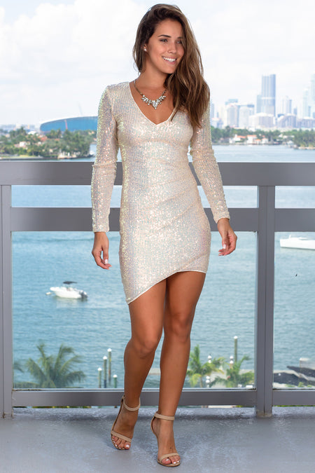 Opal Sequin Short Dress