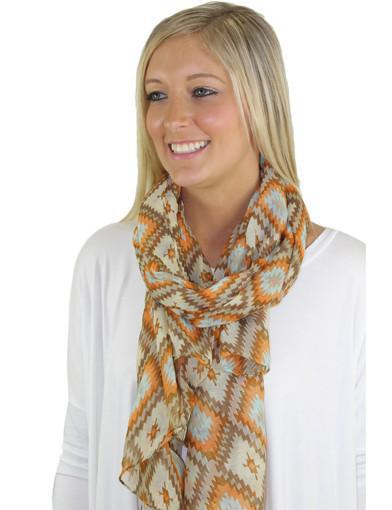 Beige scarf - main image