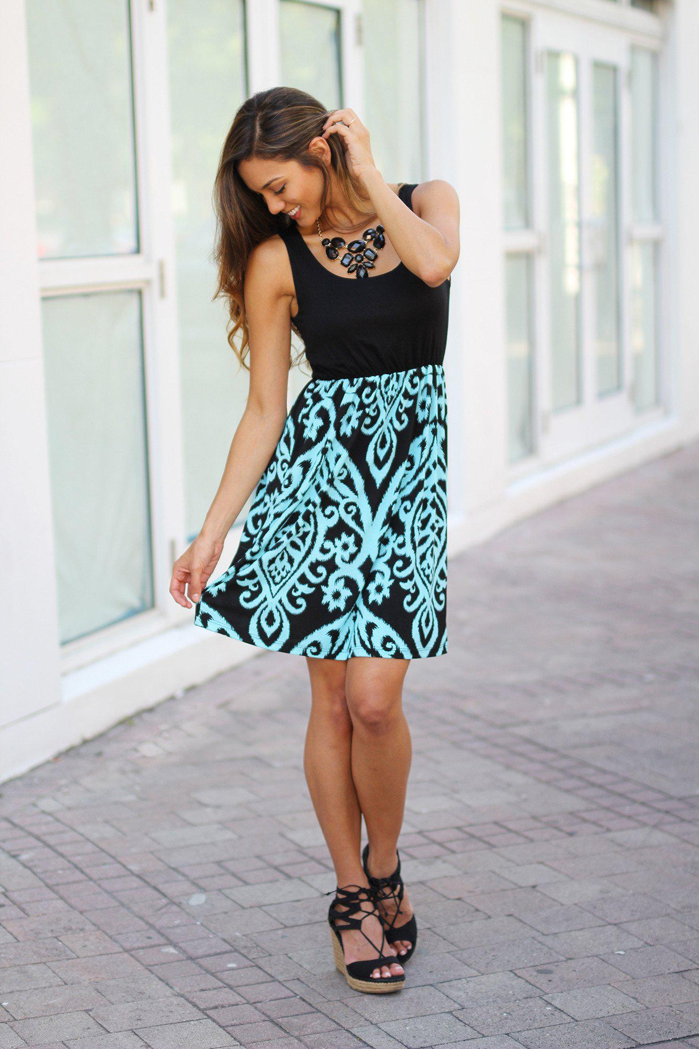printed cute dress