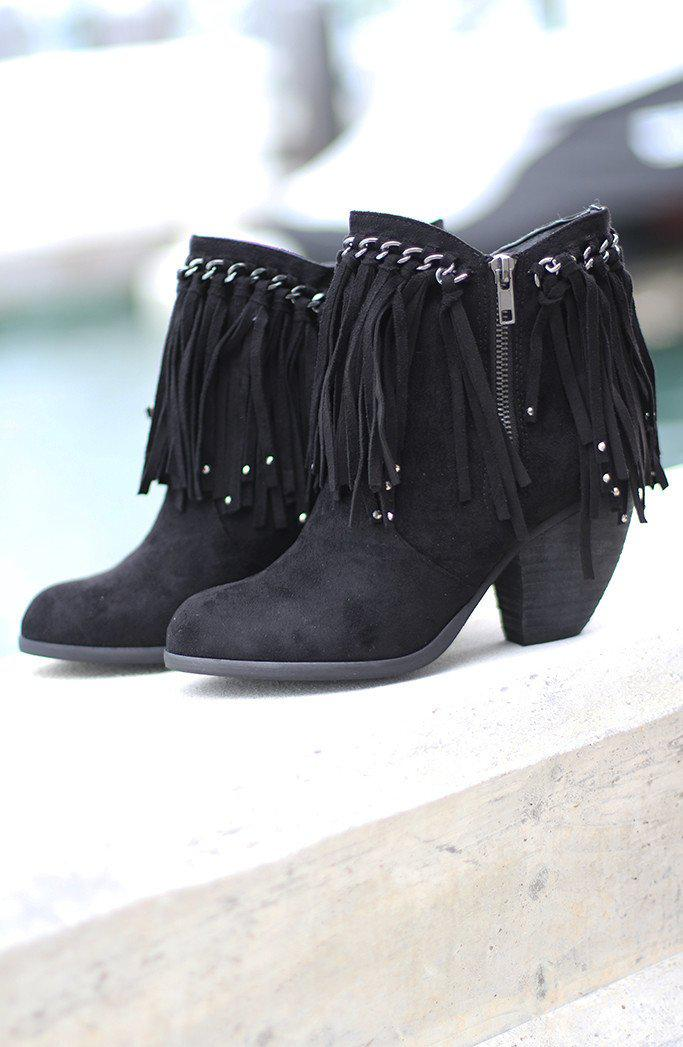 Black Ayita Booties