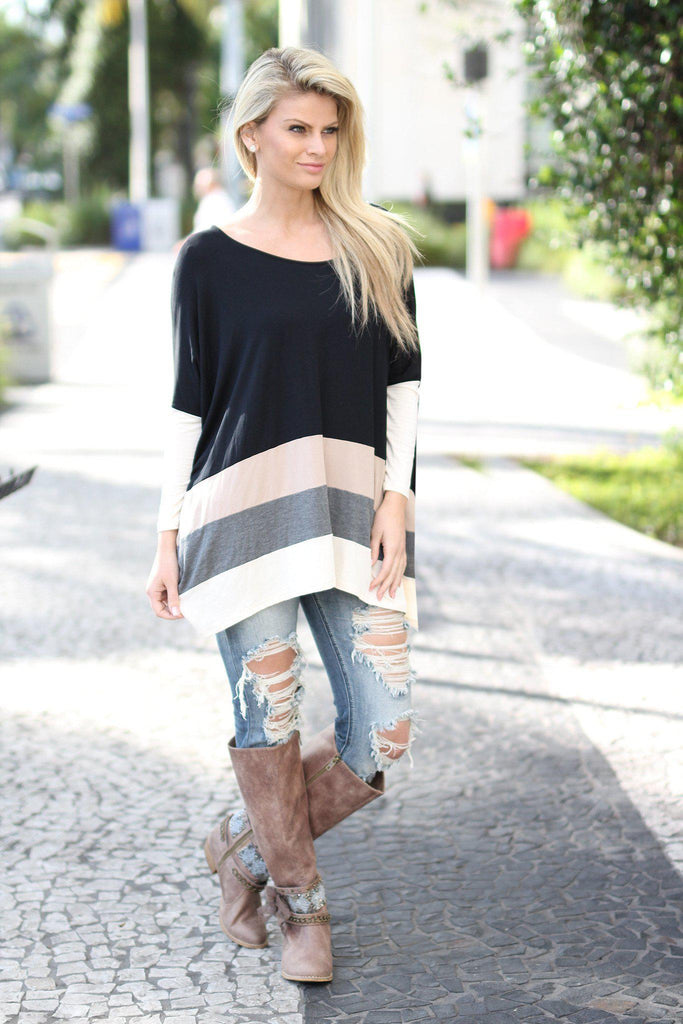 multi color cute top