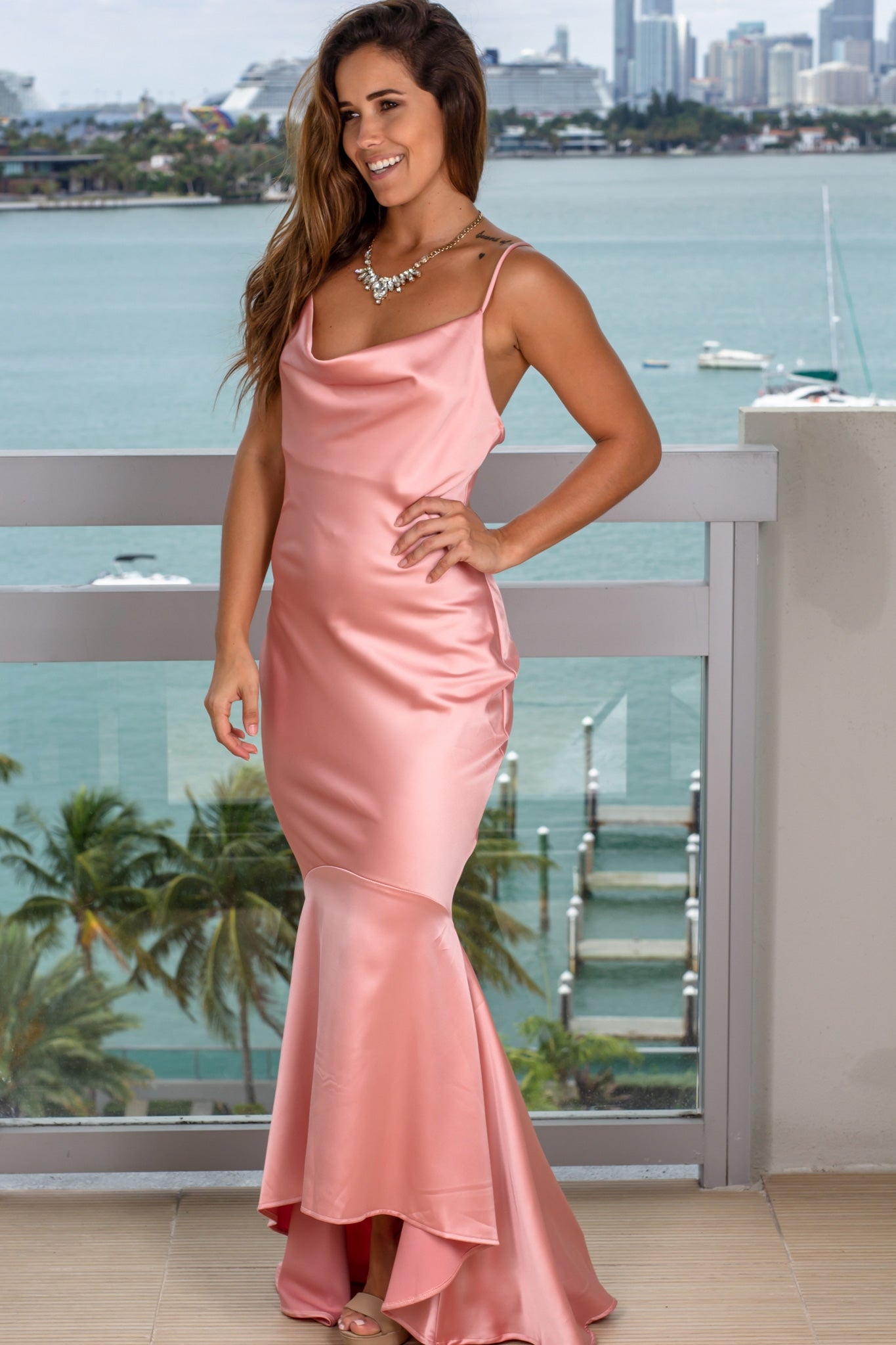 Blush Formal Dress