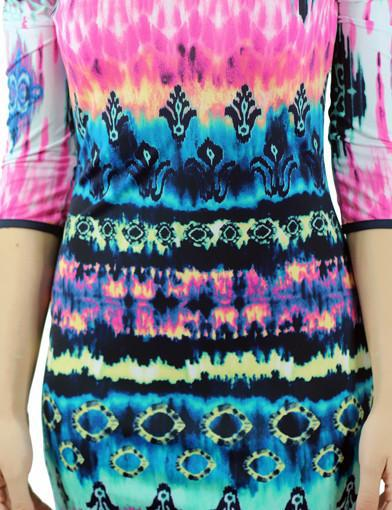 Bodycon printed dress