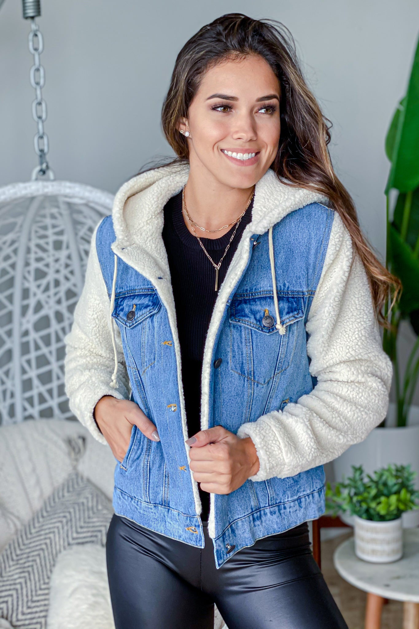 denim casual jacket