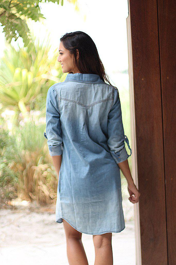 Denim Tunic With Pockets
