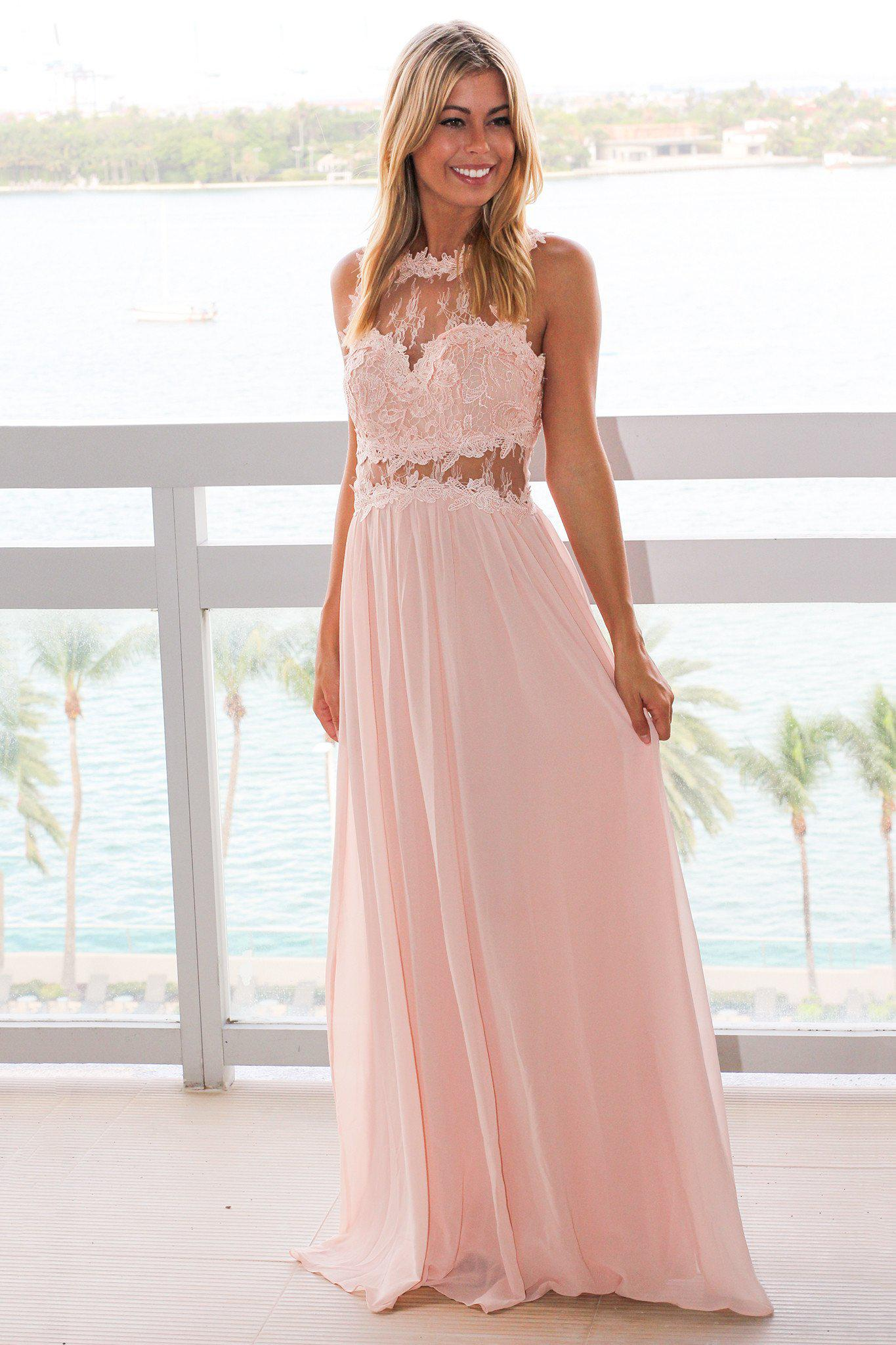 bridesmaids maxi dress