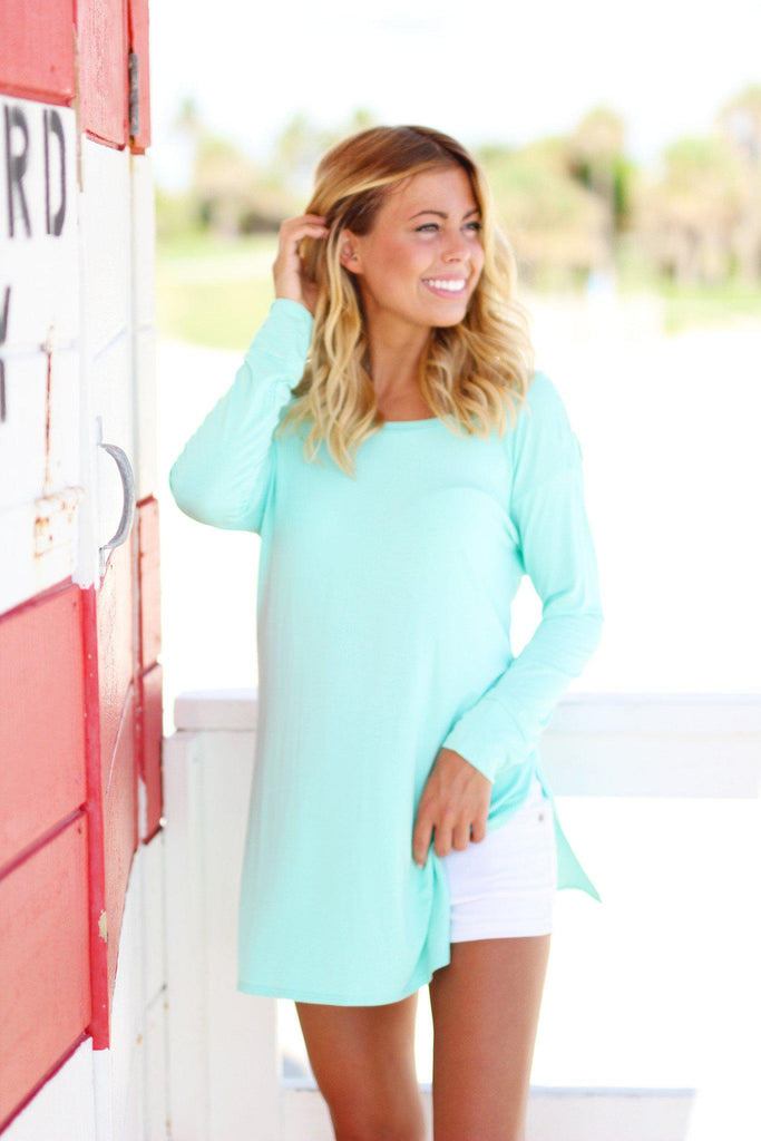 mint long top