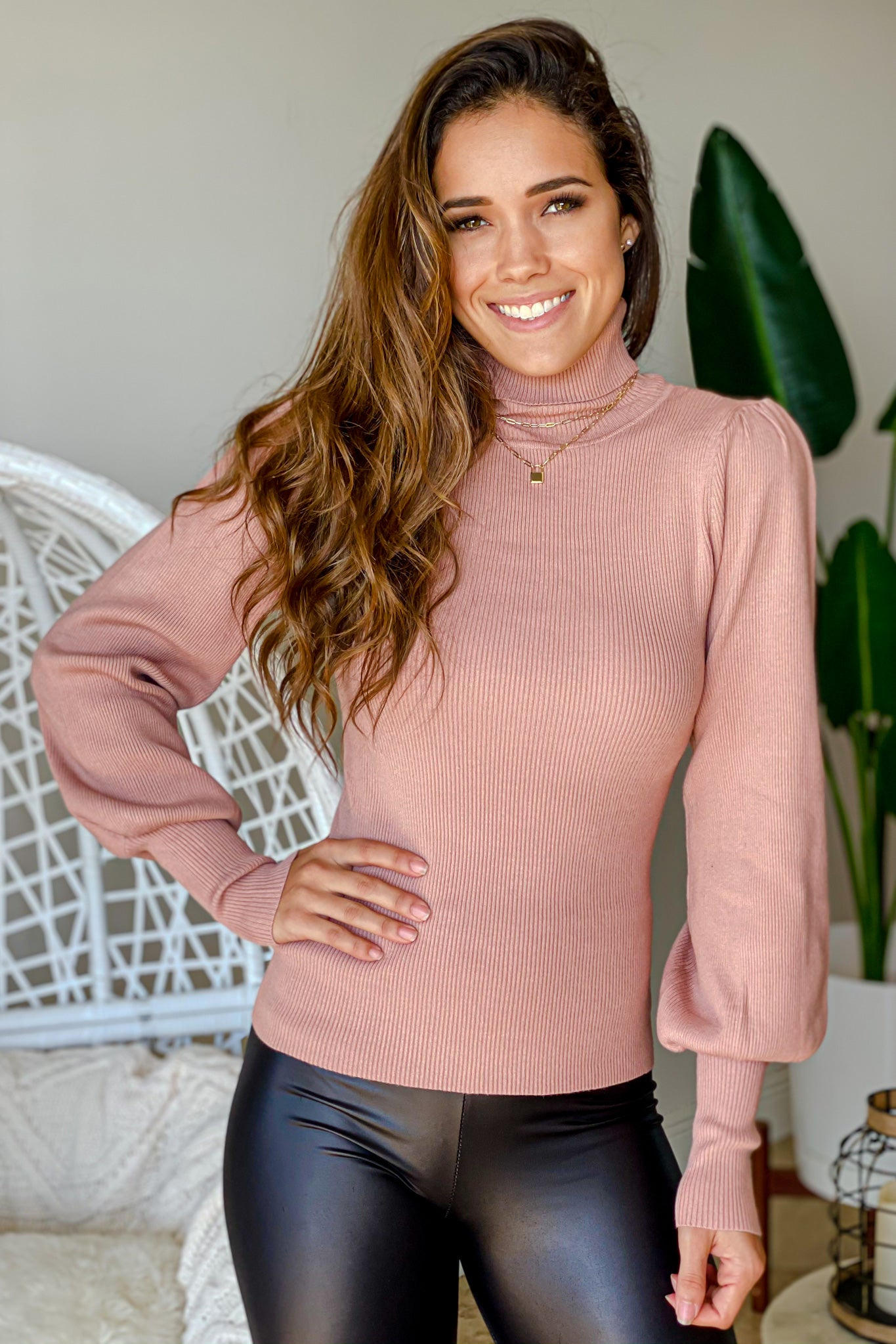 mauve pretty sweater