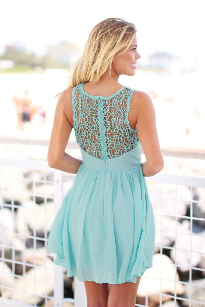dusty mint special occasion dress