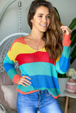 Multi Colored Cute Top
