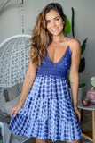 navy cute summer dress
