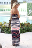 multi color chevron dress
