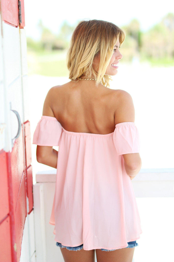 blush party top