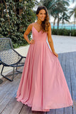 rose bridesmaids maxi dress