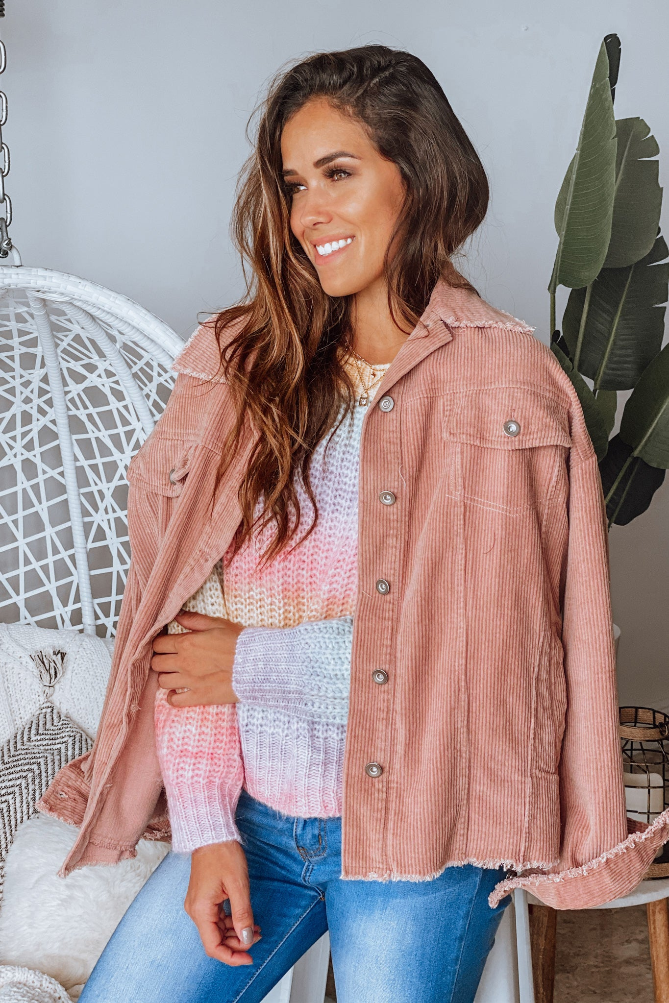 rose casual jacket