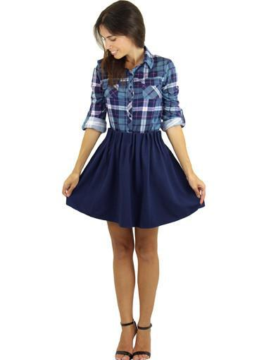 School skirt - front view