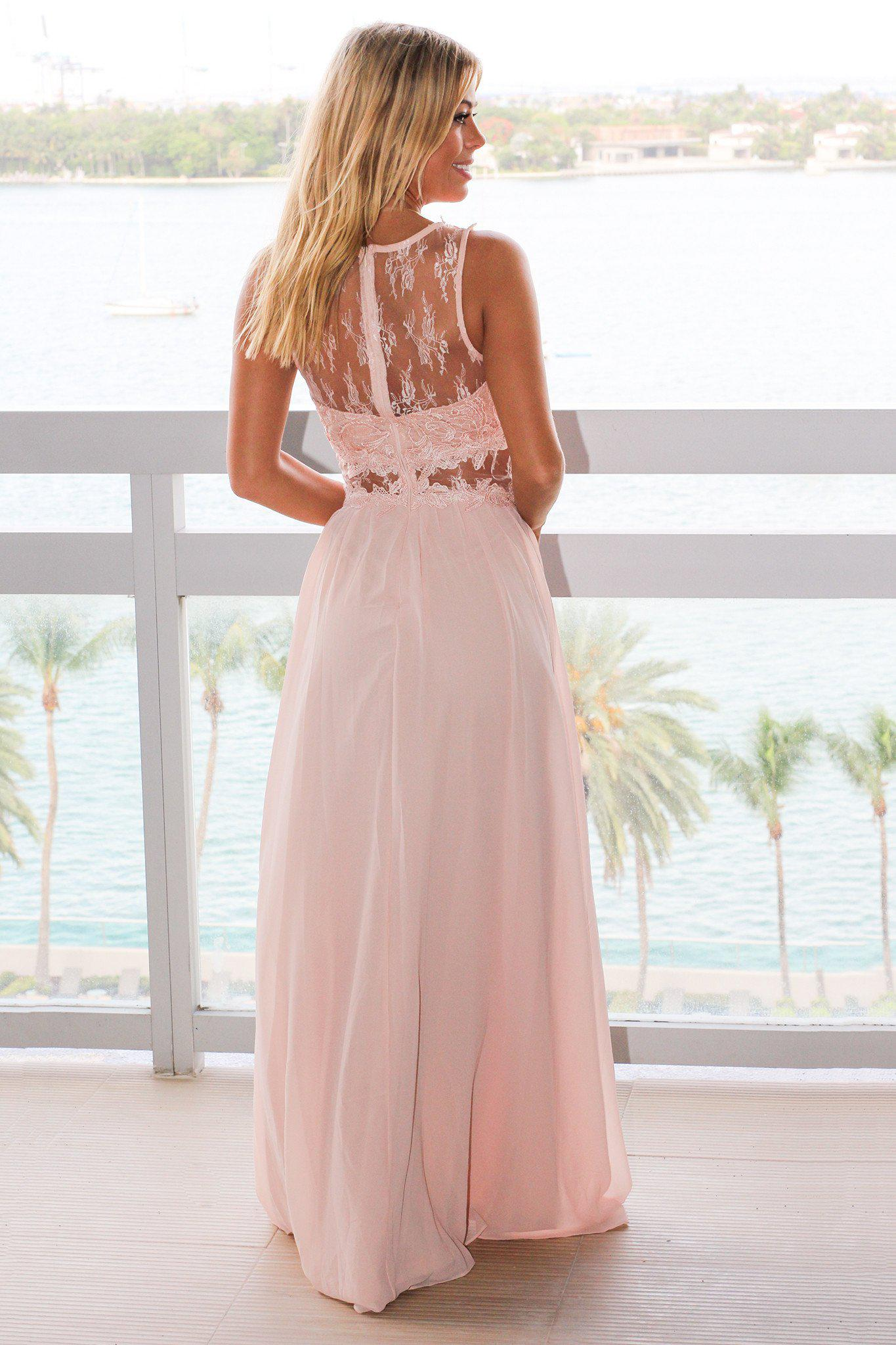 bridesmaids lace dress