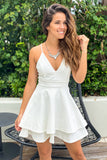 white wedding rehearsal dress
