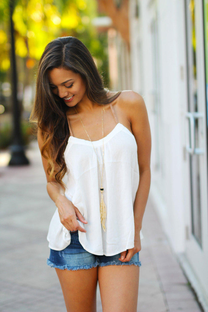 loose fit tank top